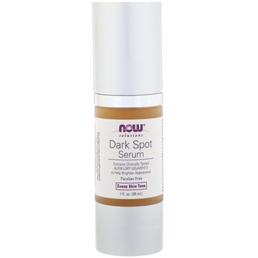 Now Foods, Solutions, Dark Spot Serum, 1 fl oz (30 ml)