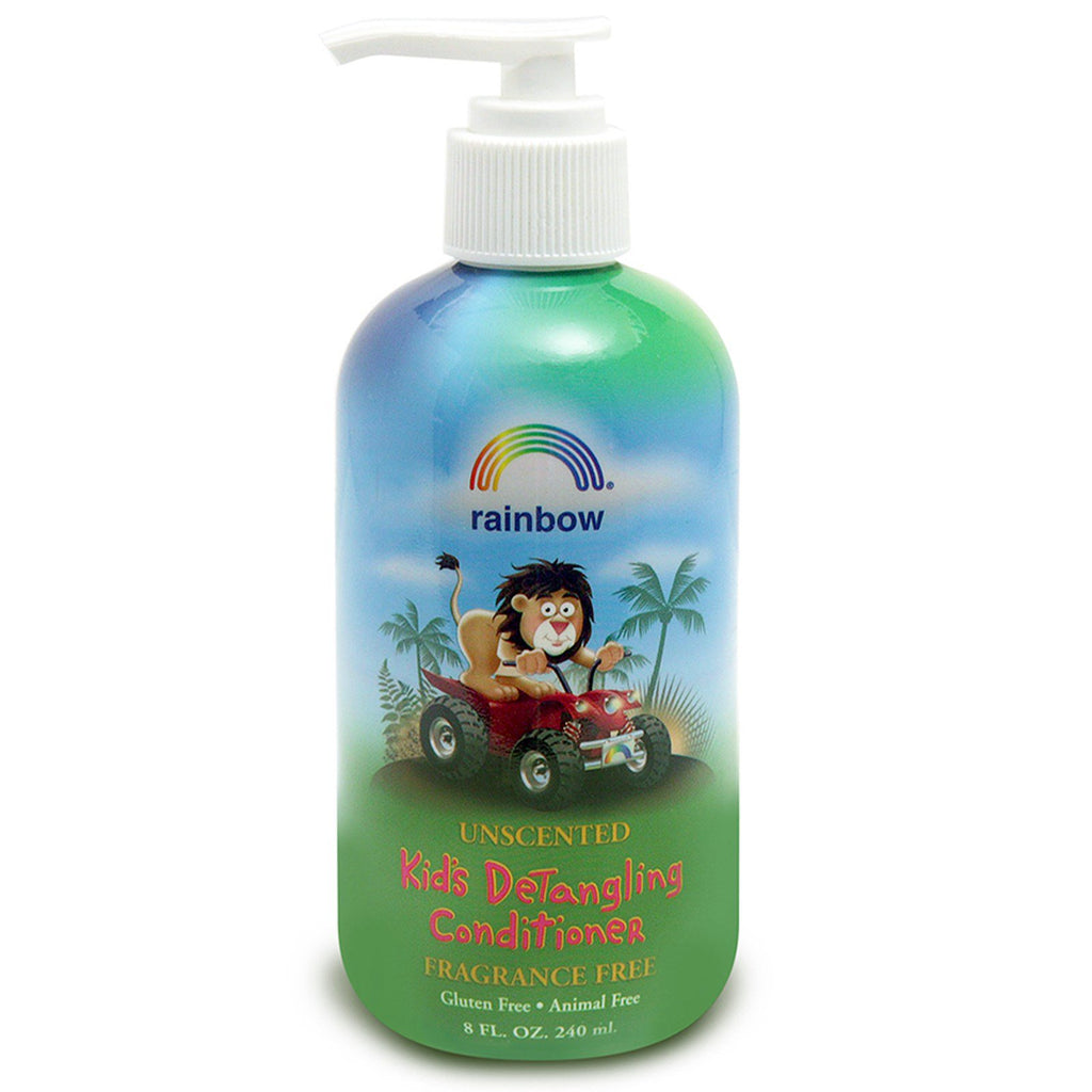 Rainbow Research, Kid's Detangling Conditioner, Fragrance Free, 8 fl oz, (240 ml)