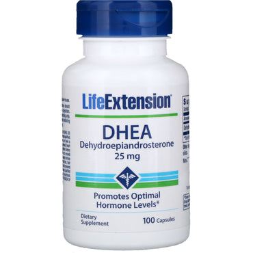 Life Extension, DHEA, 25 mg, 100 Capsules