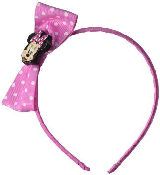 DISNEY Disney Minnie Mouse Grosgrain Bow Headband