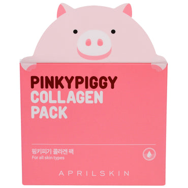 April Skin, PinkyPiggy Collagen Pack, 3.38 oz (100 g)