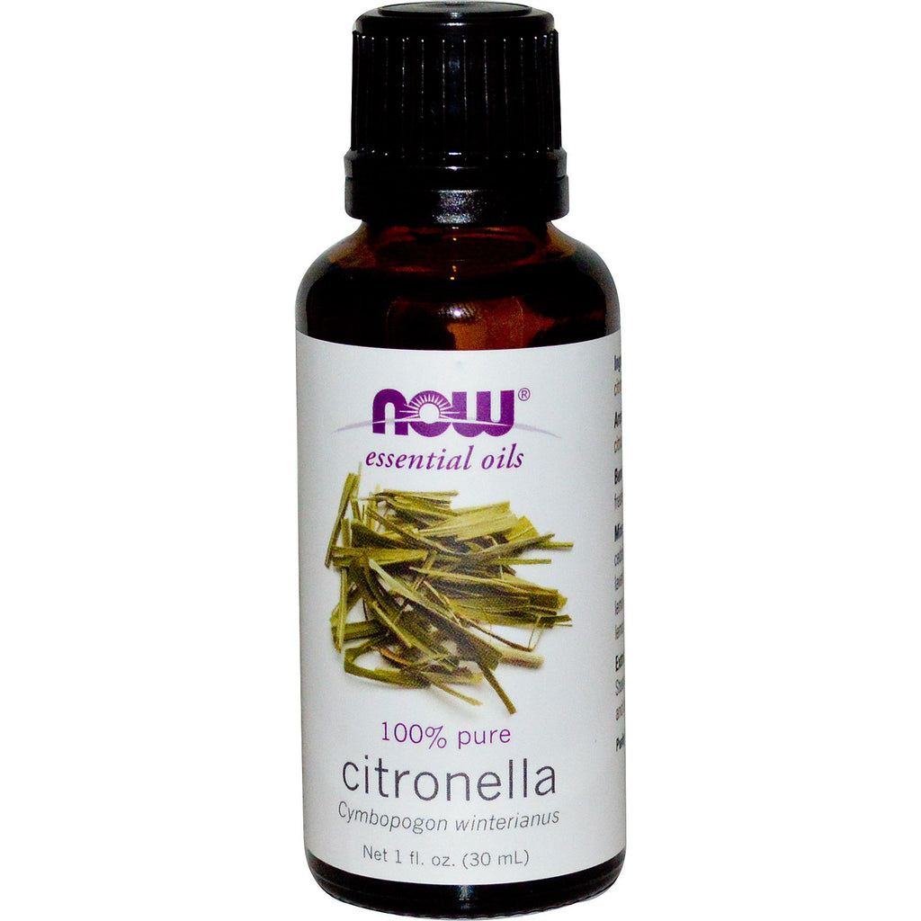 Now Foods, Essential Oils, Citronella, 1 fl oz (30 ml)