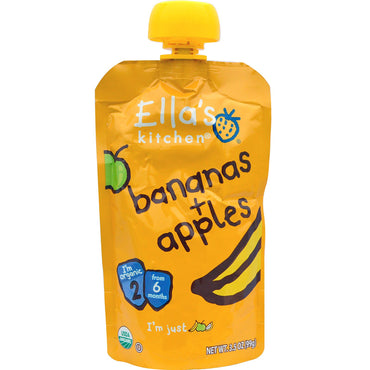 Ella's Kitchen Bananas + Apples 3.5 oz (99 g)