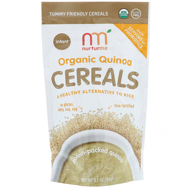 NurturMe Organic Quinoa Cereals Protein-Packed Quinoa Infant  3.7 oz (104 g)