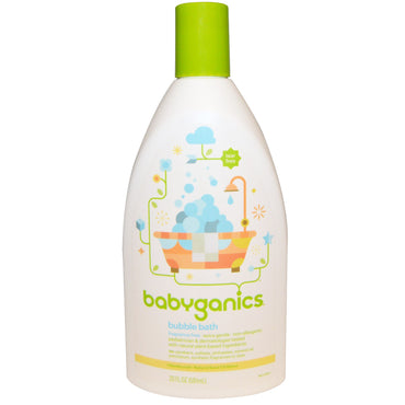 BabyGanics Bubble Bath Fragrance Free 20 fl oz (591 ml)