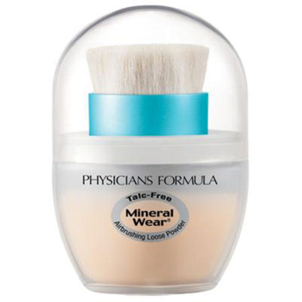 Physician's Formula, Inc., Mineral Wear, Mineral Airbrushing Loose Powder, Creamy Natural, SPF 30, 0.35 oz (10 g)