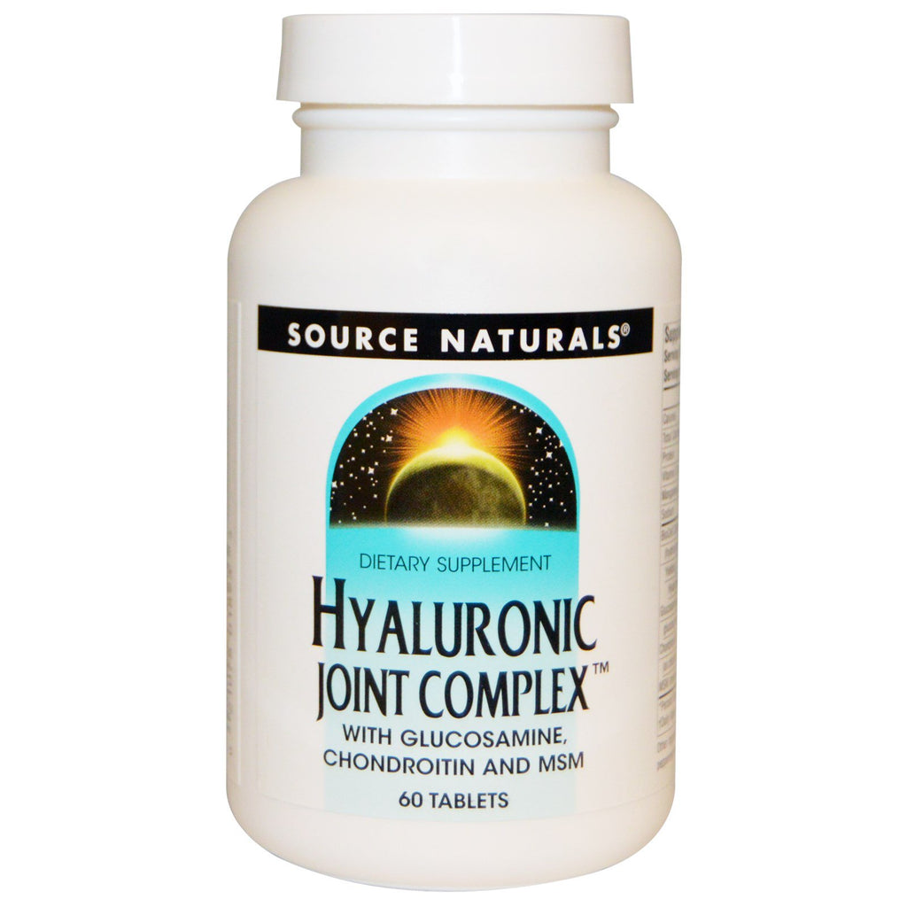 Source Naturals, Hyaluronic Joint Complex, 60 Tablets