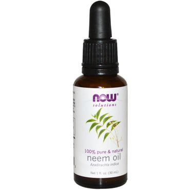 Now Foods, Solutions, Neem Oil, 1 fl oz (30 ml)
