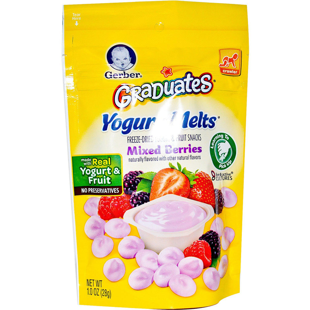 Gerber Graduates Yogurt Melts Mixed Berries 1.0 oz (28 g)