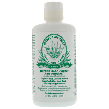 Herbal Answers, Inc, Herbal Aloe Force, 32 fl oz (946 ml)