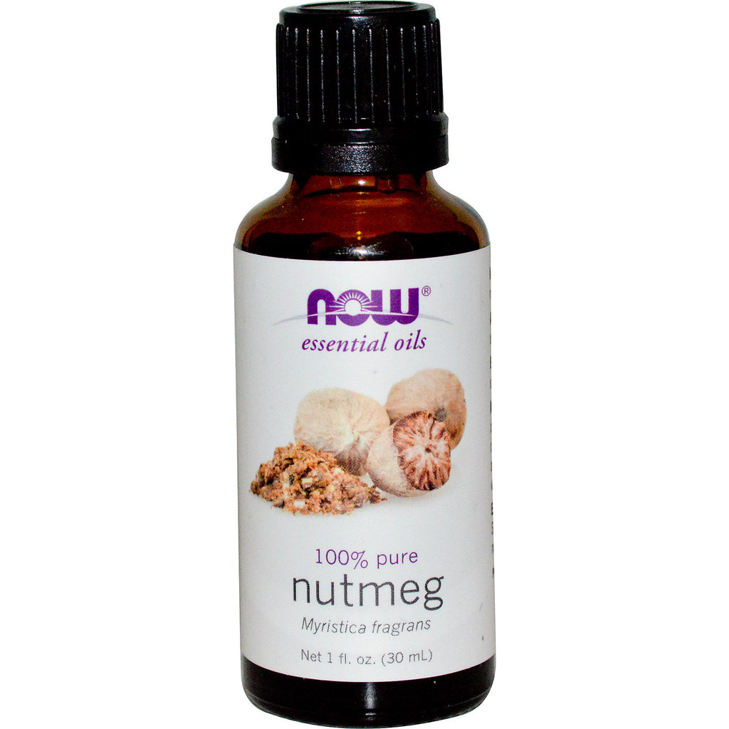 Now Foods, Essential Oils, Nutmeg, 1 fl oz (30 ml)