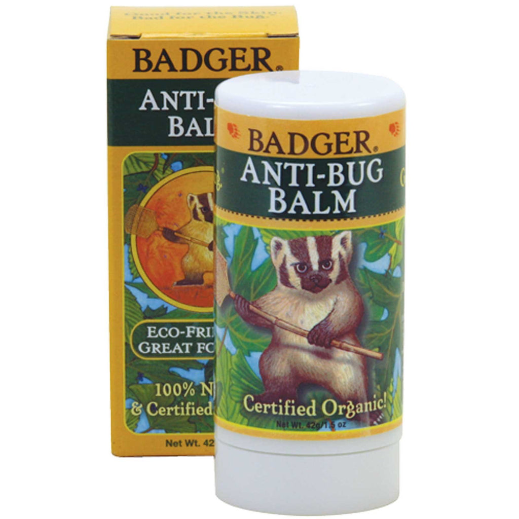 Badger Company, Anti-Bug Balm, 1.5 oz (42 g)