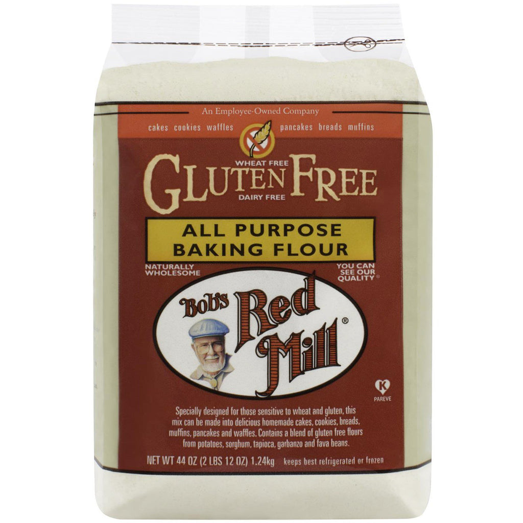 Bob's Red Mill, All Purpose Baking Flour, Gluten Free, 44 oz (1.24 kg)