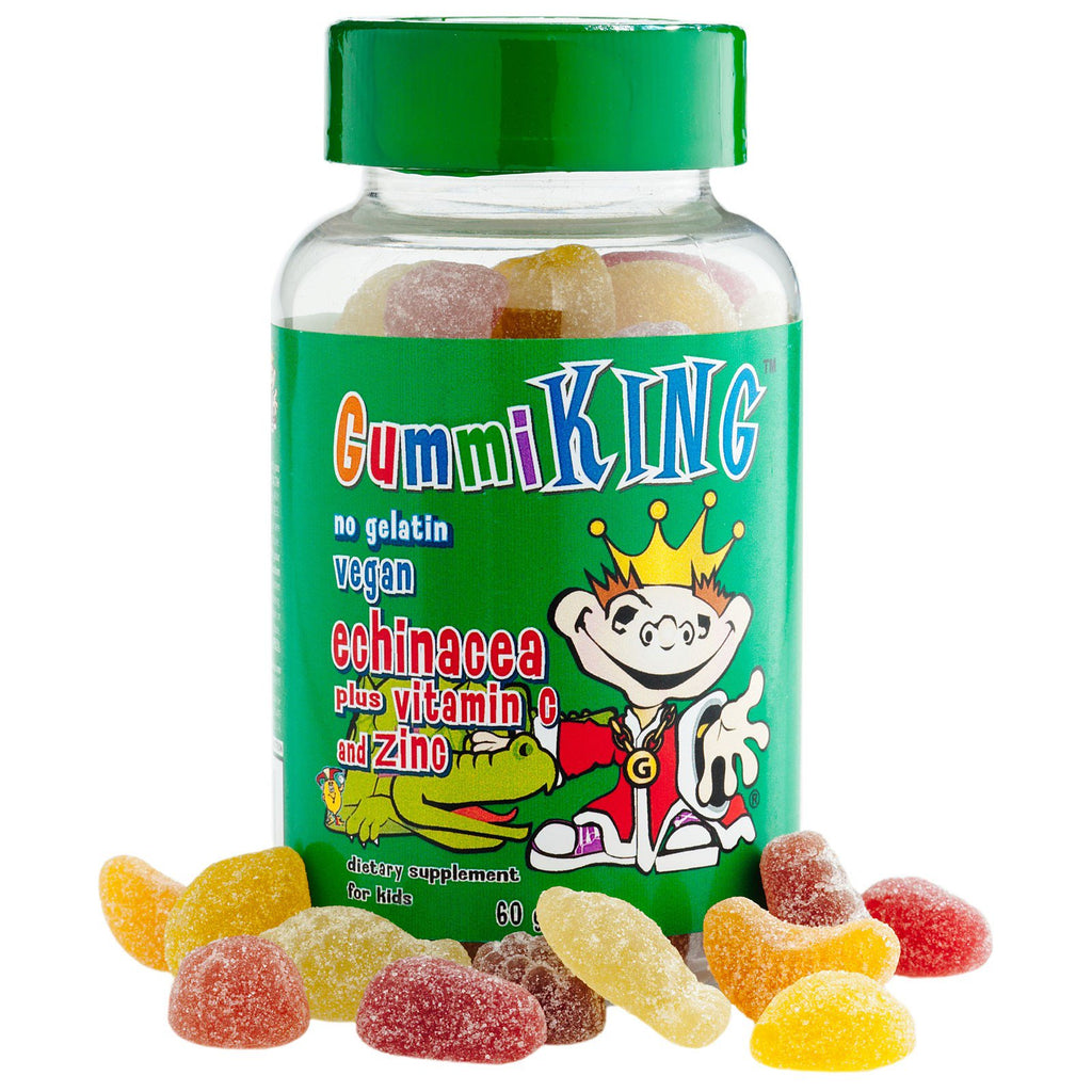 Gummi King, Echinacea Plus Vitamin C and Zinc, For Kids, 60 Gummies