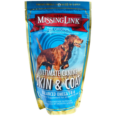 The Missing Link, Ultimate Canine Skin & Coat, for Dogs, 1 lb (454 g)