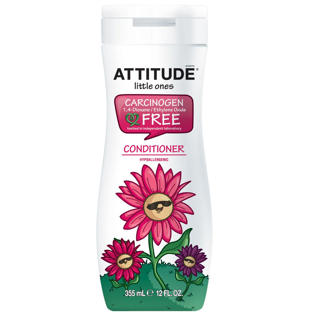 ATTITUDE, Little Ones, Conditioner, 12 fl oz (355 ml)