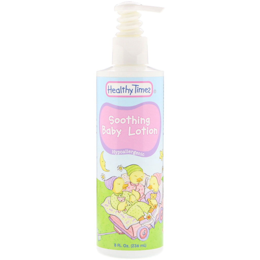 Healthy Times Soothing Baby Lotion Hypoallergenic 8 fl oz (236 ml)