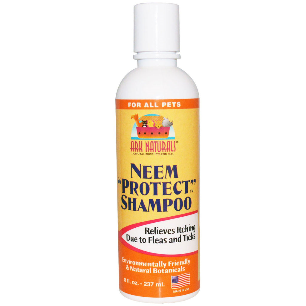 "Ark Naturals, Neem ""Protect"" Shampoo, For All Pets, 8 fl oz, (237 ml)"