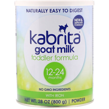 Kabrita, Goat Milk Toddler Formula with Iron, 28 oz (800 g)