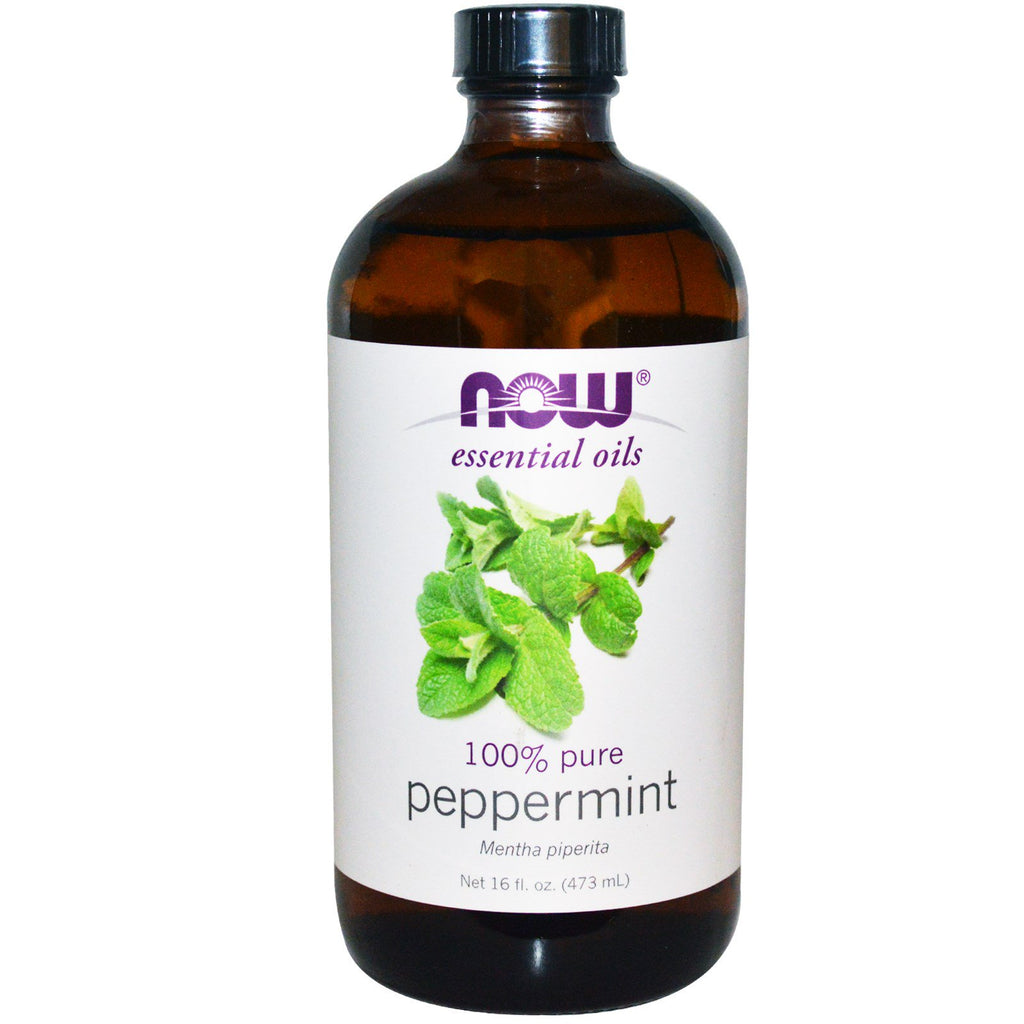Now Foods, Essential Oils, Peppermint, 16 fl oz (473 ml)