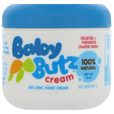 Olen Cosmetics, Baby Butz Cream, 100% Natural, 4 oz
