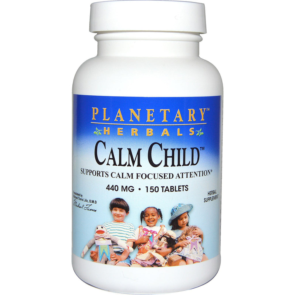 Planetary Herbals, Calm Child, 440 mg, 150 Tablets