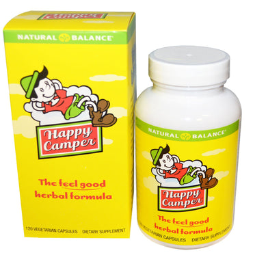 Natural Balance, Happy Camper, 120 Vegetarian Capsules