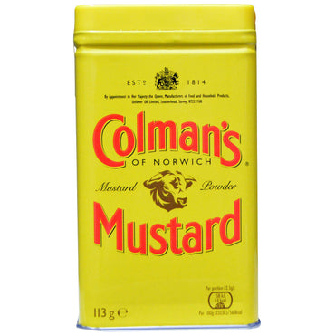 Colman's, Double Superfine Mustard Powder, 4 oz (113 g)