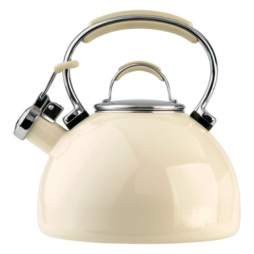 PRESTIGE Kettle | Enamel Whistling Top | 2L | Almond