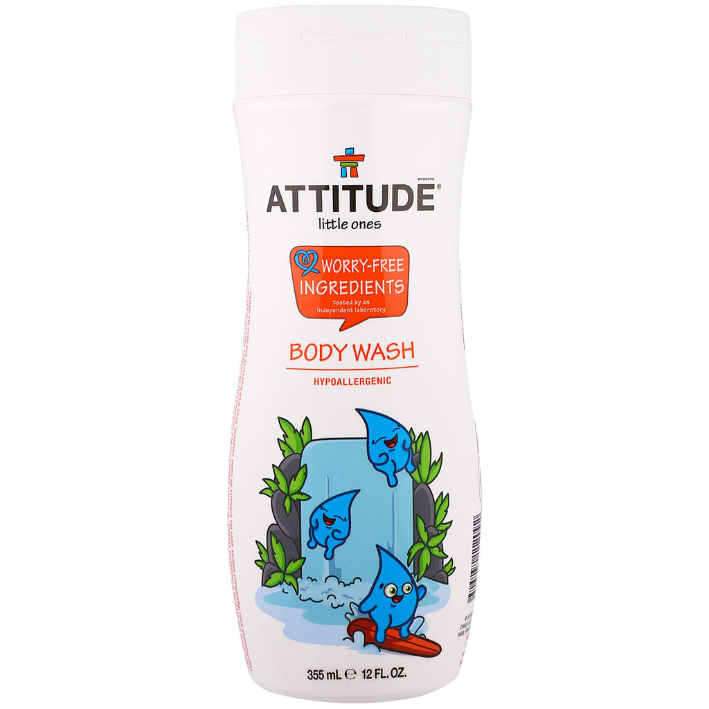 ATTITUDE Little Ones Body Wash 12 fl oz (355 ml)