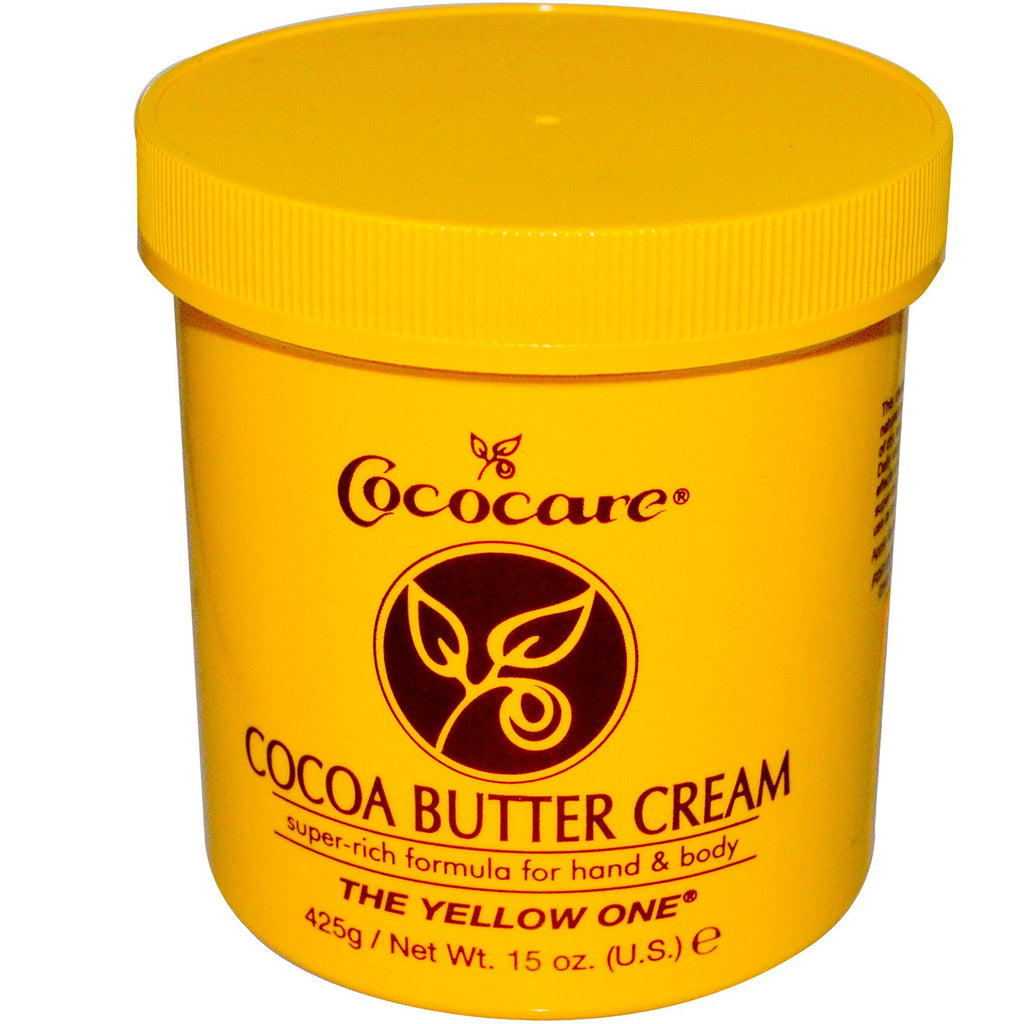 Cococare The Yellow One Cocoa Butter Cream 15 oz (425 g)