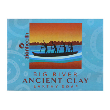 Zion Health, Ancient Clay Earthy Soap, Big River, 10.5 oz (300 g)