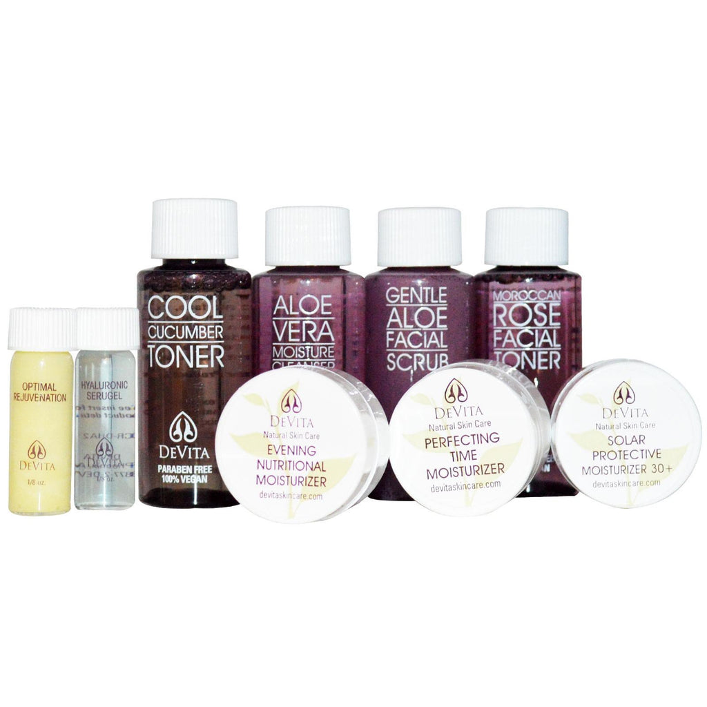 DeVita, Try-Me Kit!, Anti-Aging, 9 Piece Kit