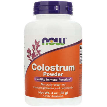 Now Foods, Colostrum Powder, 3 oz (85 g)