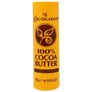 Cococare 100% Cocoa Butter The Yellow Stick 1 oz (28 g)