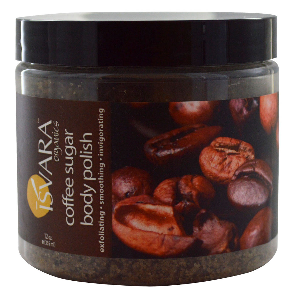 Isvara Organics, Coffee Sugar Body Polish, 12 oz (355 ml)