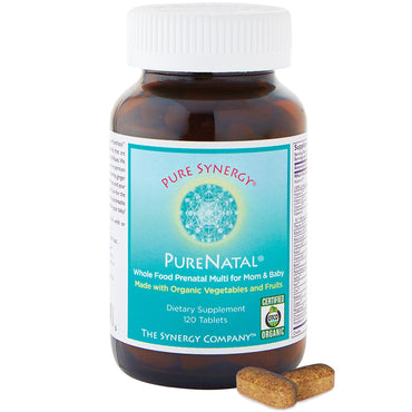 The Synergy Company, PureNatal, 120 Tablets