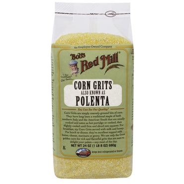 Bob's Red Mill, Corn Grits, Also Known as Polenta, 24 oz (680 g)
