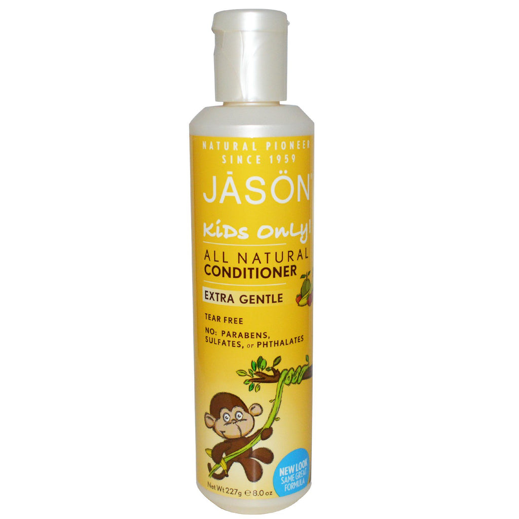 Jason Natural, Kids Only!, Extra Gentle, All Natural, Conditioner, 8 oz (227 g)