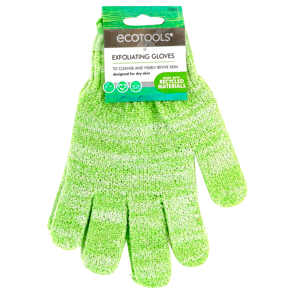 EcoTools, Exfoliating Gloves, 1 Pair
