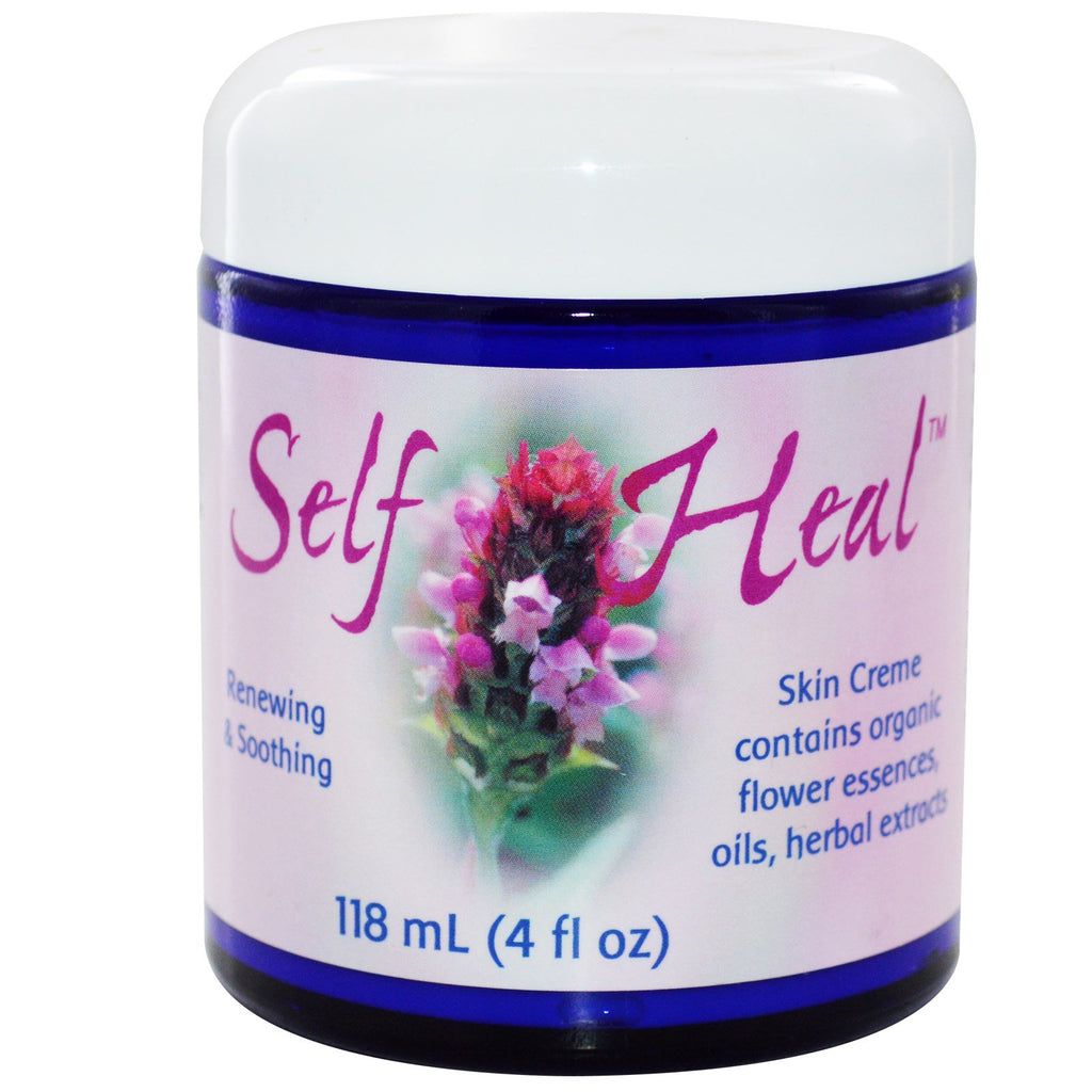 Flower Essence Services, Self Heal Skin Cream, 4 fl oz (118 ml)