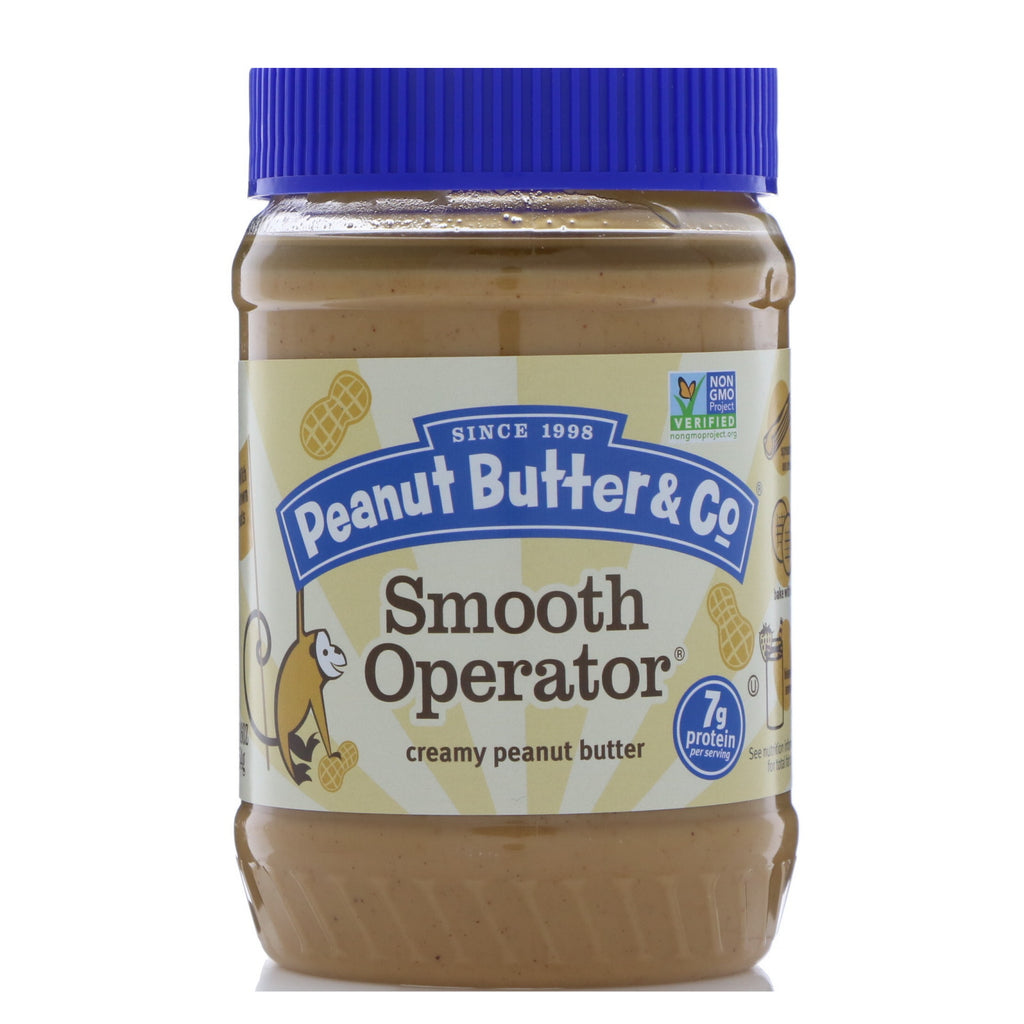 Peanut Butter & Co., Smooth Operator, Creamy Peanut Butter, 16 oz (454 g)