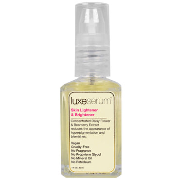 LuxeBeauty, Luxe Serum, Skin Lightener & Brightener, 1 fl oz (30 ml)