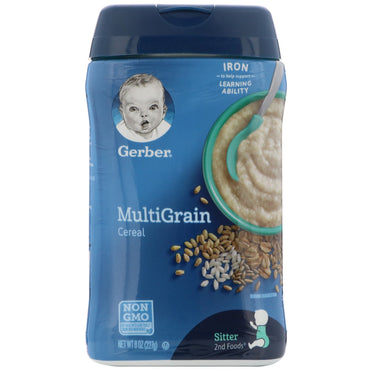 Gerber MultiGrain Cereal 8 oz (227 g)