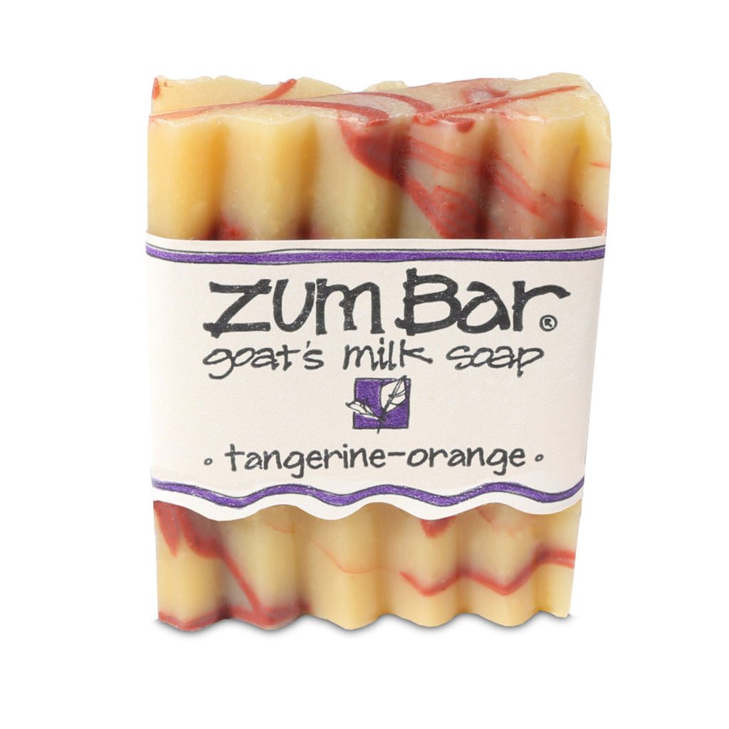 Indigo Wild, Zum Bar, Goat's Milk Soap, Tangerine-Orange, 3 oz