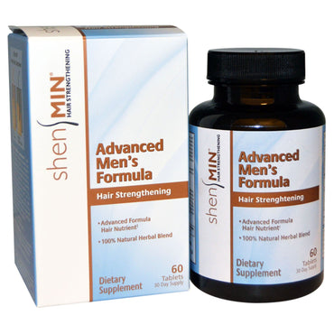Natrol Shen Min Advanced Men's Formula Hair Strengthening 60 Tablets