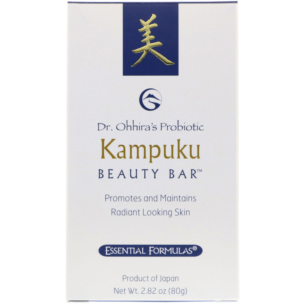 Dr. Ohhira's, Probiotic, Kampuku Beauty Bar, 2.82 oz (80 g)