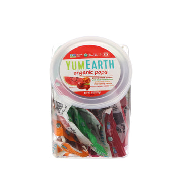 YumEarth, Organic Lollipops, 6 oz (170 g)