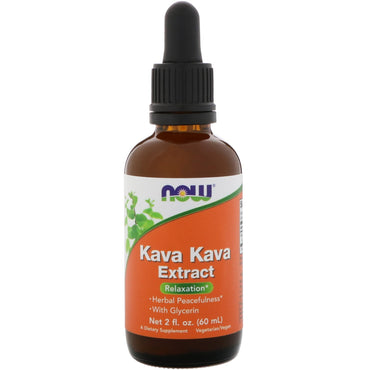 Now Foods, Kava Kava Extract, 2 fl oz (60 ml)