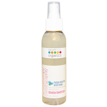 Nature's Baby Organics Aromatherapy Calming Spray Lovely Lavender 4 oz (118.3 ml)